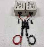 FPV-Power 100Ah V3 Waterproof Lithium Batteries Wired In Parallel With 2 - 10Ah Chargers (2 - 50Ah Batteries)