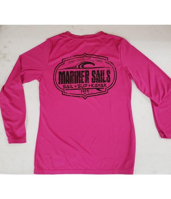 Mariner Sails Women's Long Sleeve Tech V-Neck Rashguard