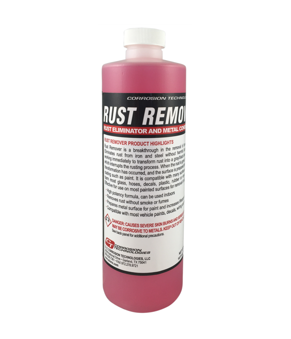 Corrosion Technologies Rust Remover (16oz. Bottle)
