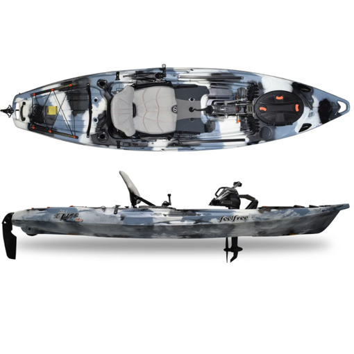 FeelFree Lure 11.5 V2 Overdrive Pedal Kayak (Includes Beavertail And 8-Ball)
