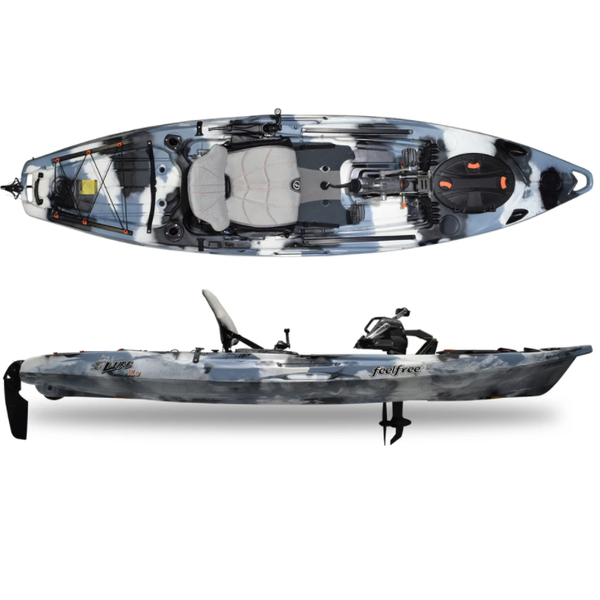 Lure 11.5 V2 Overdrive Pedal Kayak (Includes Beavertail And 8-Ball)