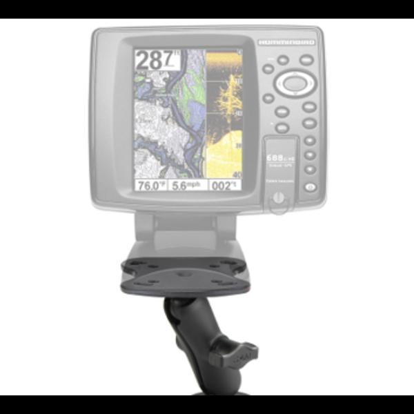 "RAM® Fishfinder Mount for Humminbird Devices 1"" No/Base"