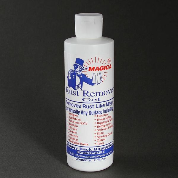 Magica Rust Remover Gel (8oZ)
