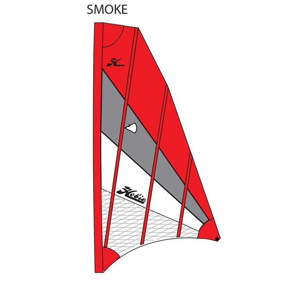 Sail Adv V2 Red/Gray/White (SMOKE)