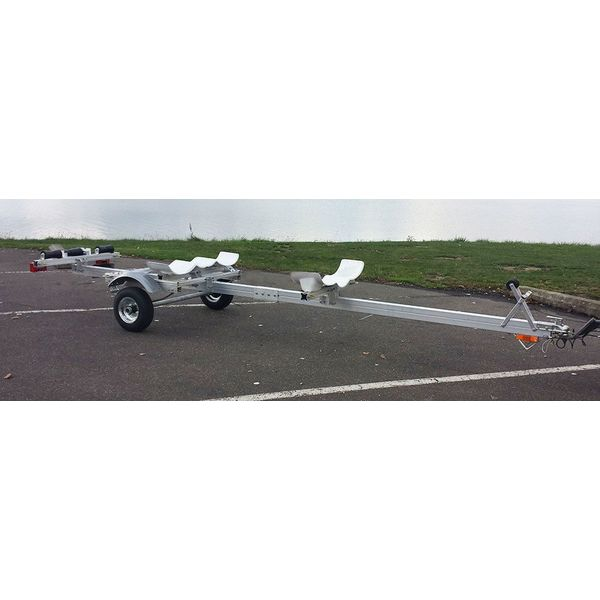 (Demo) Pro Angler 17T Trailer With Cradles