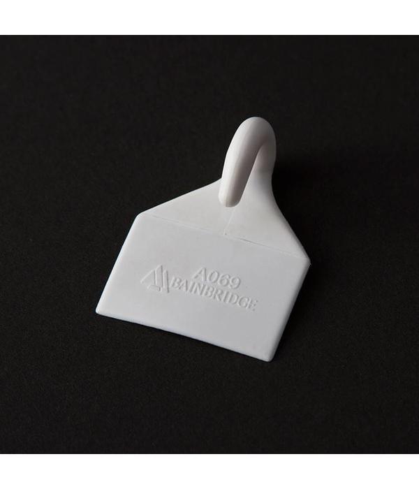 Hobie Hook White Nylon Sew-On