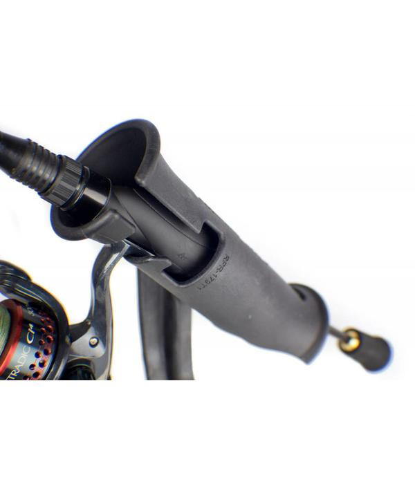 Yak-Attack (Discontinued) Zooka Tube, Post And Spline With 4'' Arm And 8'' Extension Arm, Plunger Deck Mount Included, No Hardware