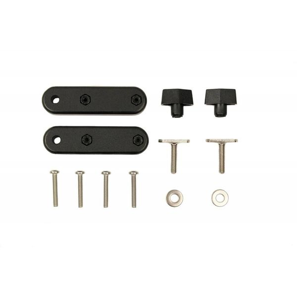(Discontinued) Bracket Set Attach Hobie Sidekick To GearTrac And Other Track Systems Includes Hardware