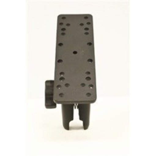 Yak-Attack (Discontinued) RAM Mounts Universal Electronics Mount 6-1/4'' x 2'' Includes Composite Connector Fits 1'' Ball Interface No Base