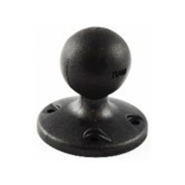 (Discontinued) RAM Mounts 2.5'' Diameter Composite Base with 1.5'' ball, Includes Hardware