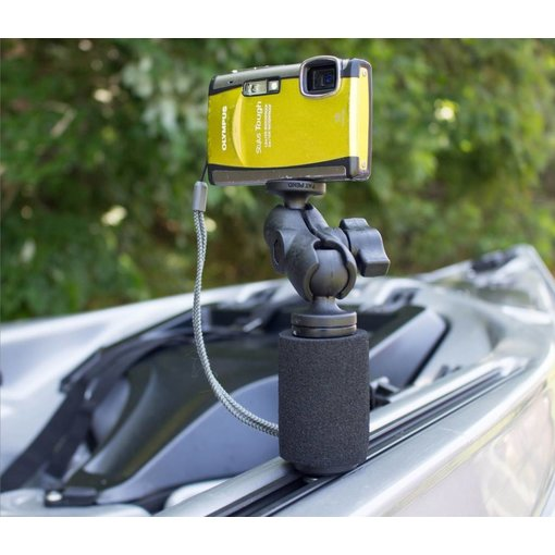 "Yak-Attack (Discontinued) PanFish Portrait Camera Mount With MightyMount And Mounting Hardware 1/4""-20 Camera Ball"