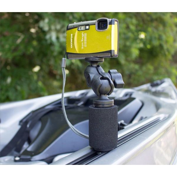 "(Discontinued) PanFish Portrait Camera Mount With MightyMount And Mounting Hardware 1/4""-20 Camera Ball"