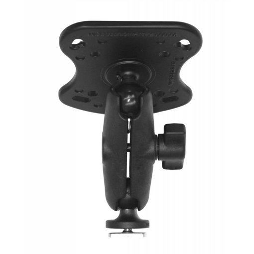 Yak-Attack (Discontinued) Screwball Combo RAM Mounts® Aluminum Base For The Humminbird 100, 300, 500, 700 Series And Matrix Series Includes Composite Connector And 1'' Screwball