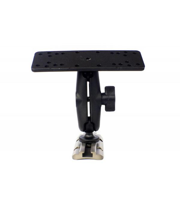 Yak-Attack (Discontinued) Screwball Combo Universal Electronics Mount 6-1/4'' x 2'' Includes Composite Connector Arm And 1'' Screwball