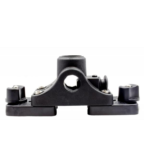 Yak-Attack (Discontinued) MightyMount Deck Mount Adapter Attaches RAM Mounts® And Scotty Deck Mounts To GearTrac Includes Hardware Base Not Included