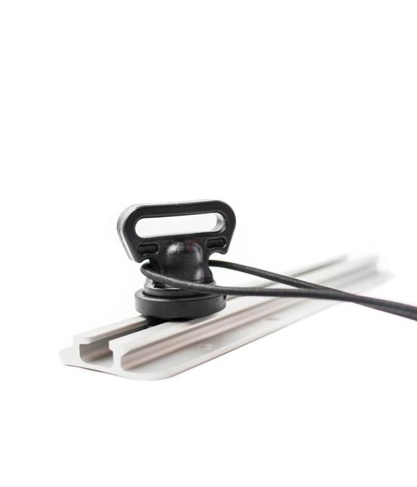 Yak-Attack Vertical Tie Down Track Mount (Pack Of 2)