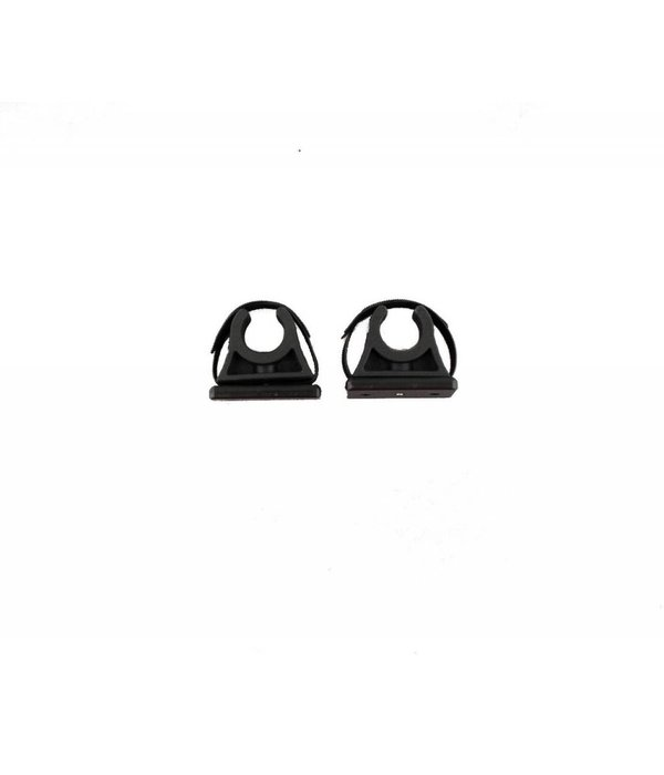 Yak-Attack ParkNPole Rubber Clips With Deluxe Mounting Base Includes Hardware And Security Strap (Pack Of 2)