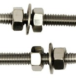 """Yak-Attack Rigging Bullet 1/4""""-20 Threads (MightyMount) Hardware (Pack Of 2)"""