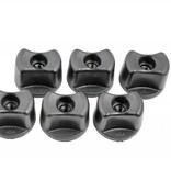 """Yak-Attack Convertible Knobs 1/4-20"""" Threads (Pack Of 6)"""