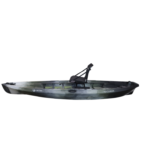 NuCanoe Unlimited 12.5 With 360 Fusion Seat