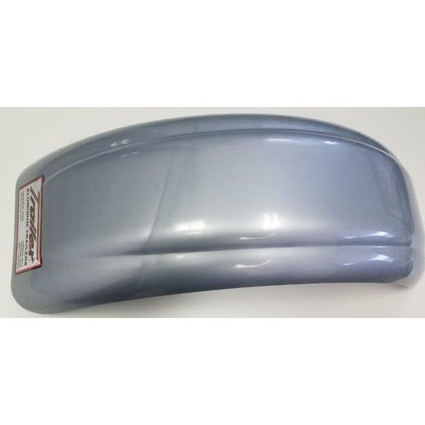 Small Plastic Fender Silver Drilled