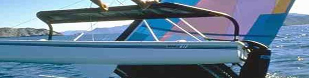 Hobie 17 Rear Crossbar Parts