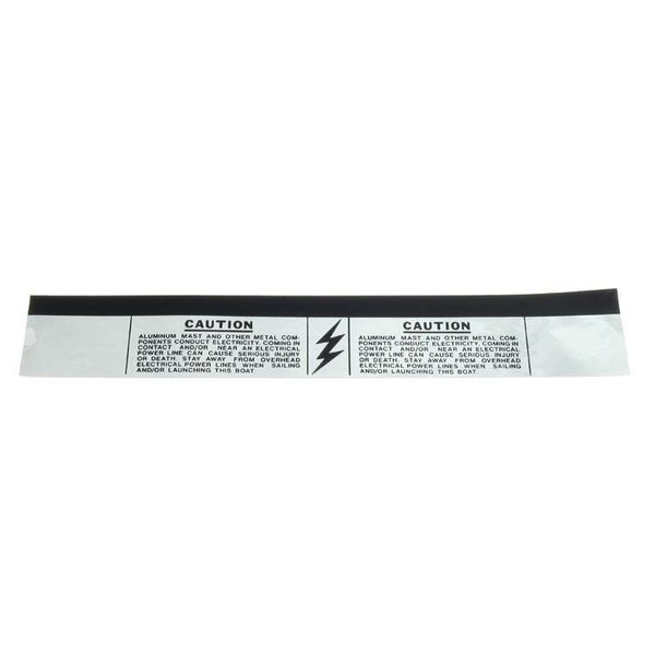 Mast Caution Band Black