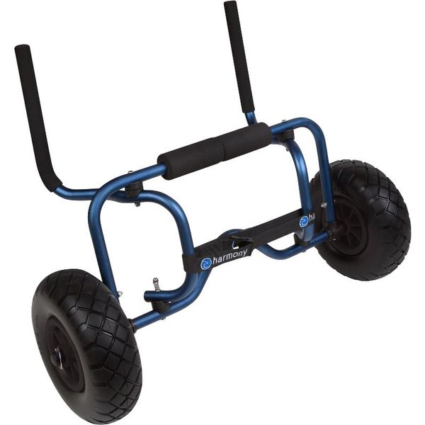 (Discontinued) Sit On Top Boat Cart With Flat Free Wheels (Foam Filled Tire)