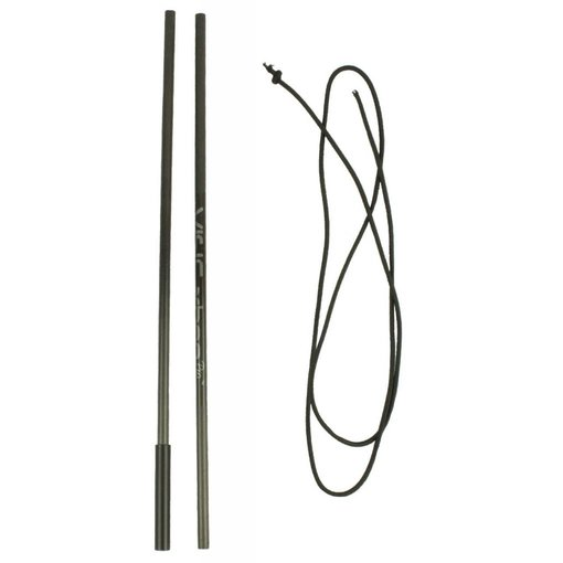 Yak-Attack VISICarbon Pro Mast Repair Kit Includes Both Carbon Tubes And Replacement Shock Cord