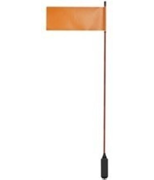 Yak-Attack VISIFlag 52'' Mast With Flag Includes MightyMount