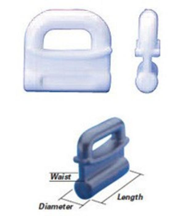 Bainbridge Internal Slug Sail Slides Plastic (Pack Of 5)