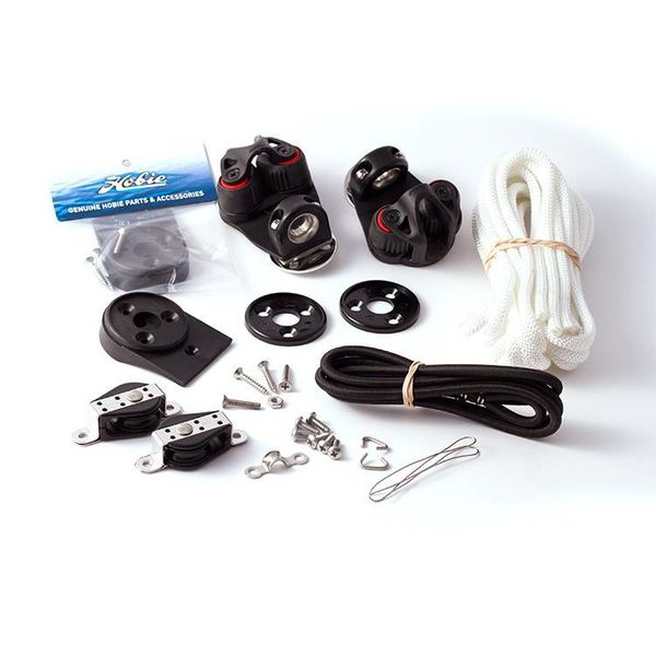 Jib Traveler Trim Kit With Swivel