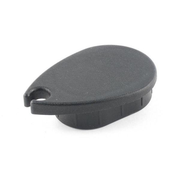 Black Forward End Cap