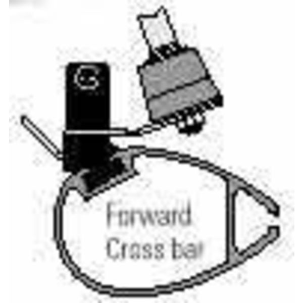 Forward Crossbar H16 With Step