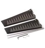 Hobie ST-Turbo Fin Kit Gray/Black v1