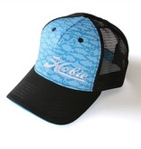 Hobie Hat Fish Pattern Blue/Black