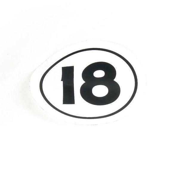"Decal Sail ""H18"" Class Insignia"