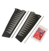 Hobie Mirage ST Turbo Fin Kit V2 Gray/Black