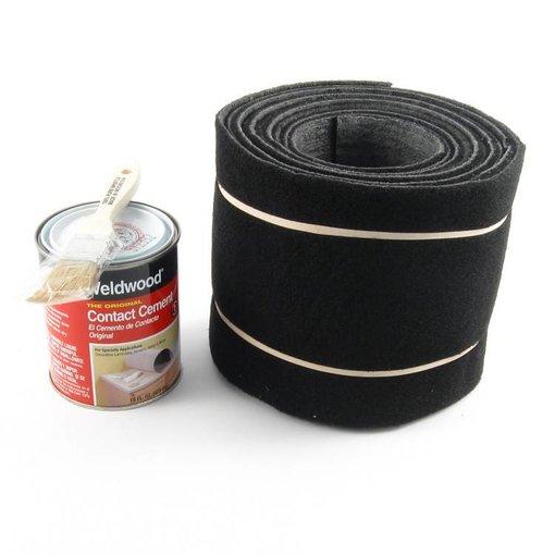 Hobie Rail Rug Carpet Kit H14&16 Black