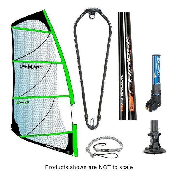 Power Glide Rig Pack With Epoxy Fiberglass Standard Diameter Mast