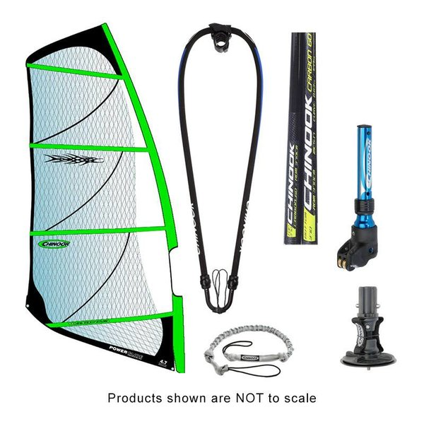 Power Glide Rig Pack With 40% Carbon Reduced Diameter Mast