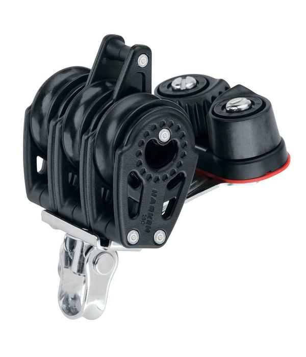 Harken Block 29mm Carbo Triple With Cleat & Becket