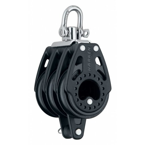 Harken Block 57mm Carbo Triple With Becket