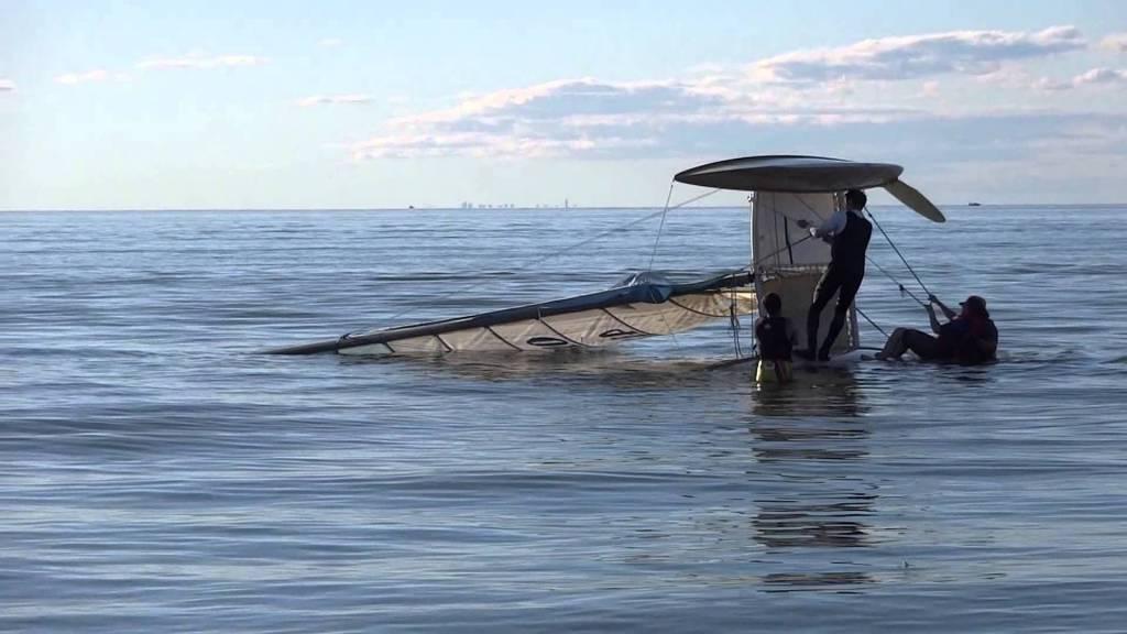 Righting Your Hobie Catamaran