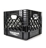 "YakGear Milk Crate Black 13"" x 13"""