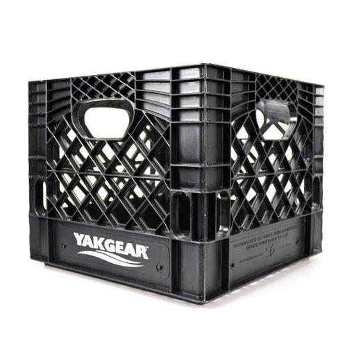 "YakGear Milk Crate Black 13"" x 13"""