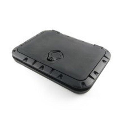 Hobie Twist-N-Seal Hatch Kit Rectangular Black