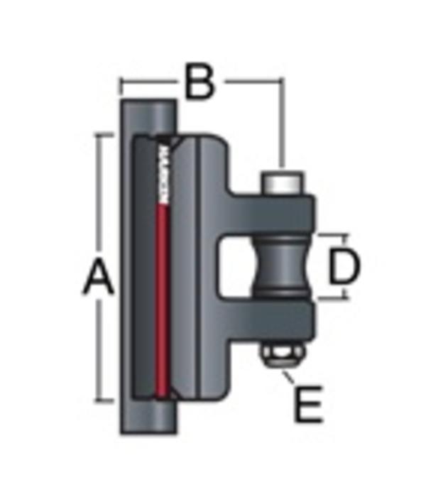 Harken CB 22mm Battcar System A Universal