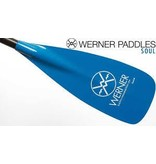 "Werner Paddles (Discontinued) Paddle Soul Adjustable Blade 74-81.5"" Fiberglass"