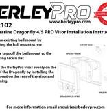 BerleyPro Raymarine Dragonfly 4/5 Visor